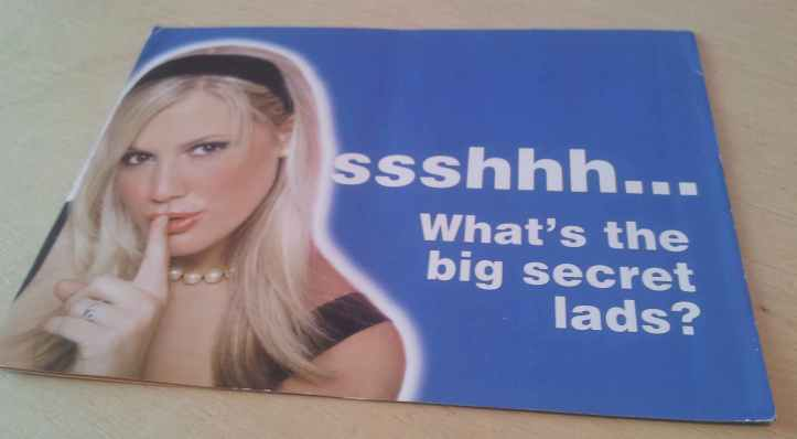 What do you think this leaflet is advertising?